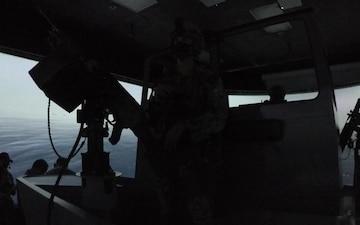 MESG 1 Conducts Boat Simulator Training