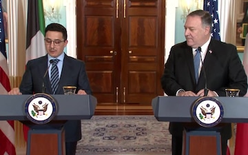 Secretary of State Mike Pompeo Joint Statements with Kuwaiti Foreign Minister Sheikh Ahmad Nasser Al-Mohammad Al-Sabah