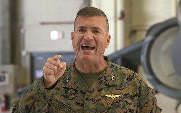 2nd MAW Commanding General Thanksgiving message