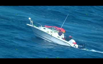 Coast Guard, Good Samaritan rescue 3 from sinking vessel near Cape Fear, North Carolina