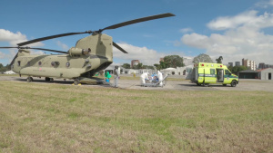 JTF-Bravo provides casualty evacuation for COVID patient in Guatemala