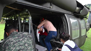 Honduran citizens rescued from remote village