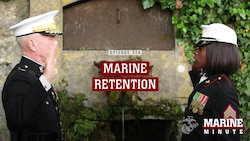 Marine Minute: Marine Retention