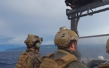 15th MEU ADR Marines conduct small boat training