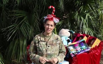 Lt. Col. Rachel Honderd - holiday season greeting