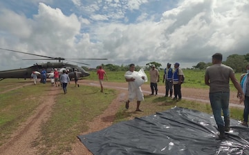 JTF-Bravo delivers humanitarian aid in Honduras