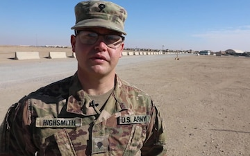 Spc. Sawyer Highsmith Holiday Greeting