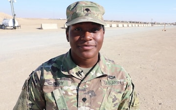 Spc. Jamila Nery Holiday Greeting
