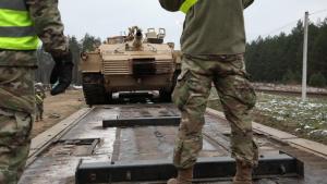 Stallions conduct final rail head operation