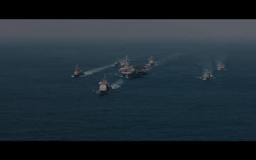 USS Carl Vinson (CVN 70) Army-Navy Spirit Spot
