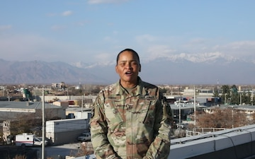 Chief Warrant Officer 3 Debra Smith Holiday Shout-out Shreveport LA