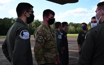 314th Airlift Wing conducts off-station training