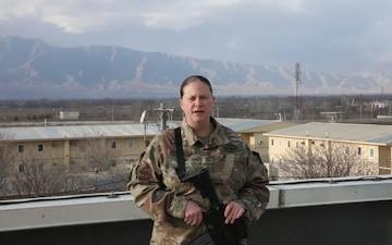 Master Sgt. Angela Fernandez Holiday Shout-out Taft, TN