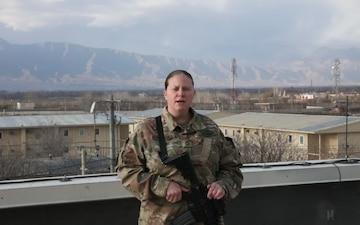 Master Sgt. Angela Fernandez Holiday Shout-out Oelwein, Iowa