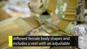Inside AFIMSC: New Female Body Armor Delivery