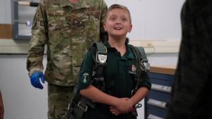 Trail Life USA Troop GA-1315 visits 413th FTG