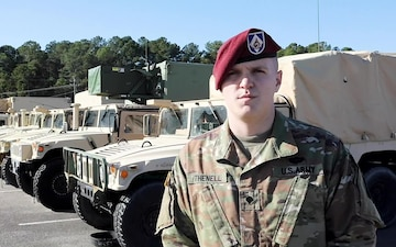 Fort Bragg Paratrooper wishes family a happy holiday