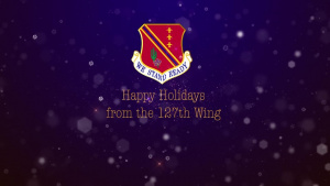 127th Wing Holiday Greeting 2020