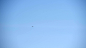 MQ-9 takeoff and landing at Creech AFB