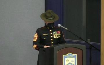 Navy Officer Training Command Senior Enlisted Leader Retirement Ceremony