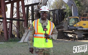 U.S. Army Corps of Engineers Dallas Floodway Supplemental - Fort Worth District Commander on ATSF Bridge Demolition