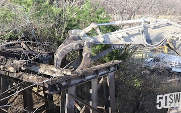 U.S. Army Corps of Engineers Dallas Floodway Supplemental - ATSF Bridge Demolition
