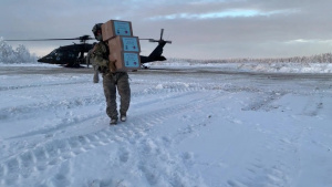 The Alaska National Guard safely delivers Christmas gifts to three remote villages, honoring Op Santa 65-year tradition