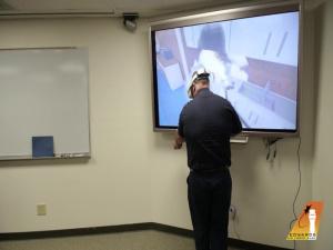 Edwards AFB fire extinguisher training goes virtual