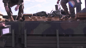U.S. Marines conduct demolition range aboard CATC Camp Fuji