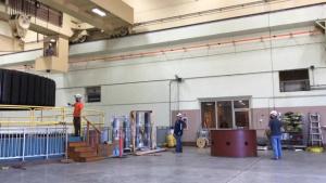 Tulsa District generator rotor removal