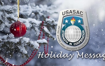 USASAC Holiday Message 2020