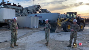 55 From the Field: LTG Spellmon Discusses Pope Army Airfield Improvements Work