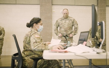Indiana National Guard Administers First Round of COVID-19 Vaccines