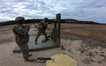 Army Reserve Soldiers conduct pre-mobilization training at Fort Hood