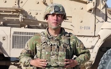 Sgt. Erik McKnight Holiday greeting