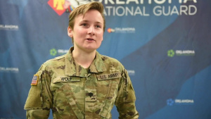 Interview: Spc. Lakin Wolf - OKNG COVID Vaccine Courier