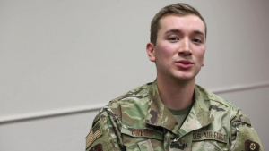 Interview: Airman 1st Class Andreas Owens - OKNG COVID Vaccine Courier