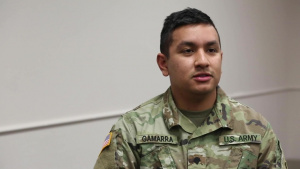 Interview: Spc. Martin Gamarra - OKNG COVID Vaccine Courier