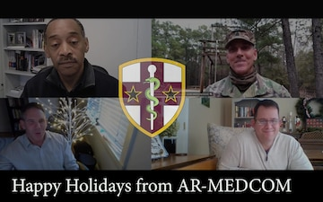 2020 Holiday message from AR-MEDCOM Leadership