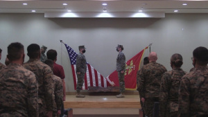 Headquarters and Service company change of command