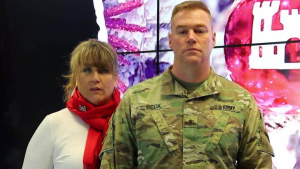 A Holiday Message from Brig. Gen. Christopher Beck and Sally Beck.