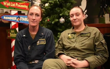 HOLIDAY GREETINGS: USS Philippine Sea Sailors Sends Holiday Greetings on Deployment