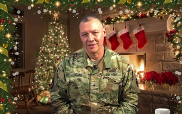 36th Infantry Division Deputy Commanding General-Support Holiday Shout Out