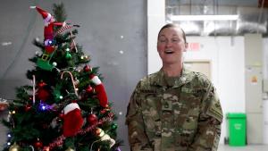 Sgt. 1st Class Tabitha Hudnall Holiday Shoutout