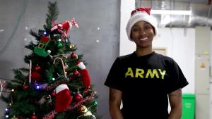 Staff Sgt. Monifa Falamee Holiday Shoutout