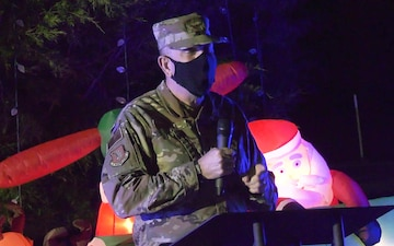 96th Test Wing holiday tree lighting ceremony
