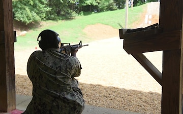 Qualifying for Small Arms Weaponry