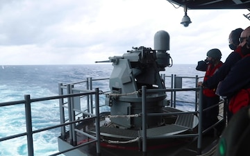 Iwo Jima conducts training in the Atlantic Ocean with Phibron 4 and the 24th MEU