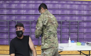 Arizona National Guard continues to support COVID-19 vaccination sites