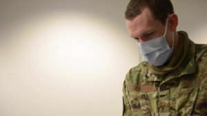 Airmen, mission essential personnel at Whiteman Air Force Base receive COVID-19 vaccine